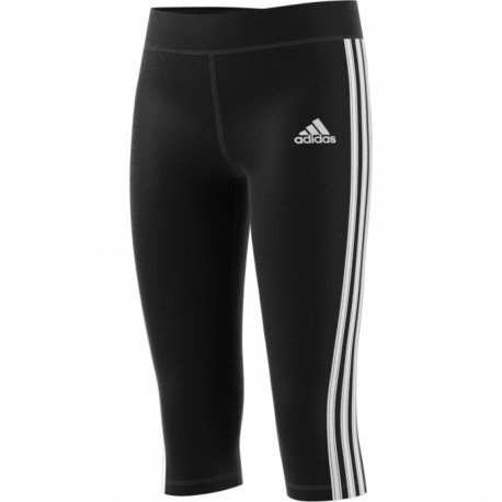 Adidas dívčí 3/4 legíny černé