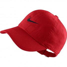 Kšiltovka Nike junior H86 UNIVERSITY RED/BLACK