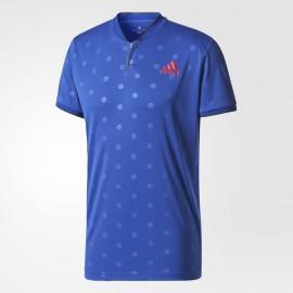 Pánské tenisové tričko adidas London Polo blue