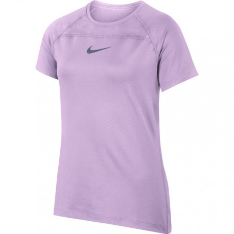 Dívčí tenisové tričko Nike Top IGLOO/BLACK