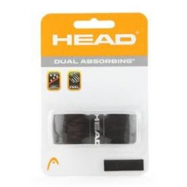 Tenisový grip Head Dual Absorbing black