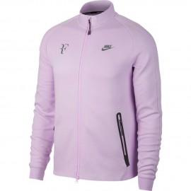 Pánská tenisová mikina Nike PREMIER RF VIOLET MIST