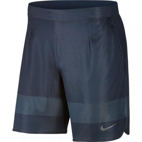 Pánské tenisové šortky Nike Ace US  THUNDER BLUE/DARK GREY