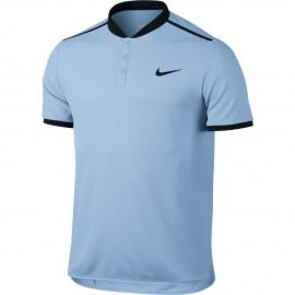 Pánské tenisové tričko Nike Advantage Polo HYDROGEN BLUE