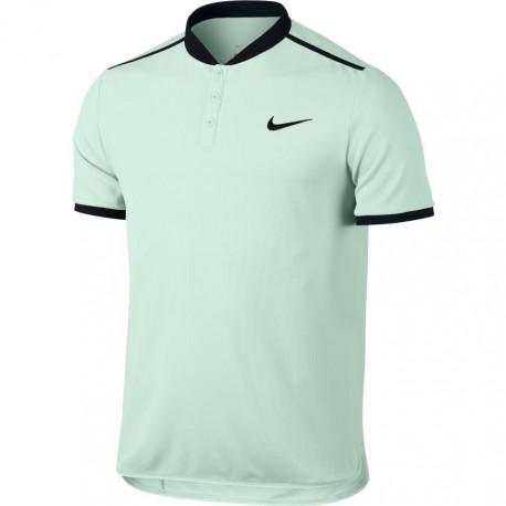 Pánské tenisové tričko Nike Advantage Polo BARELY GREEN