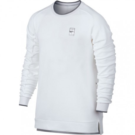 Pánská tenisová mikina Nike Court Tennis white