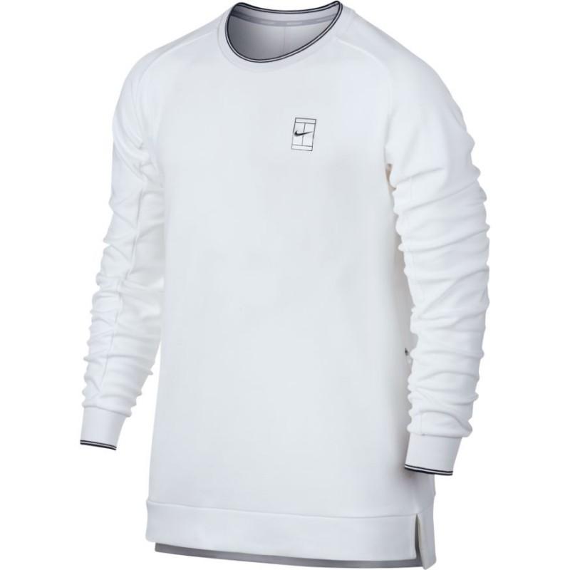 Pánská tenisová mikina Nike Court Tennis white - Tenissport Březno edef8afde6