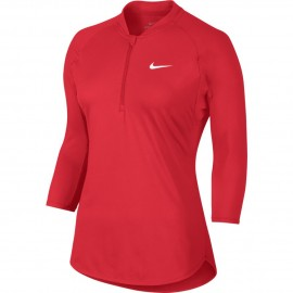 Dámské tenisové tričko Nike Dry Pure ACTION RED