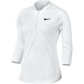 Dámské tenisové tričko Nike Dry Pure WHITE