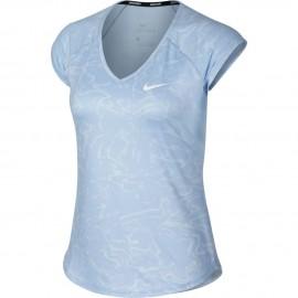 Dámské tenisové tričko Nike Pure BLUE TINT