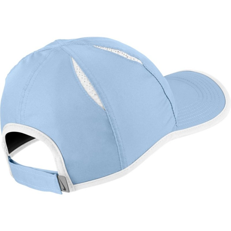 8ead743141c Kšiltovka NIKE Featherlight HYDROGEN BLUE WHIT - Tenissport Březno