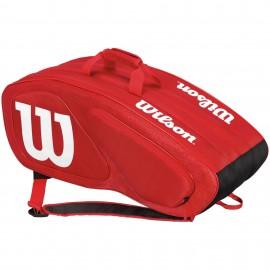Tenisová taška Wilson Team II 12 PK Red
