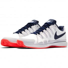 Dámská tenisová obuv Nike Zoom Vapor 9.5 Tour Clay WHITE/BINARY BLUE