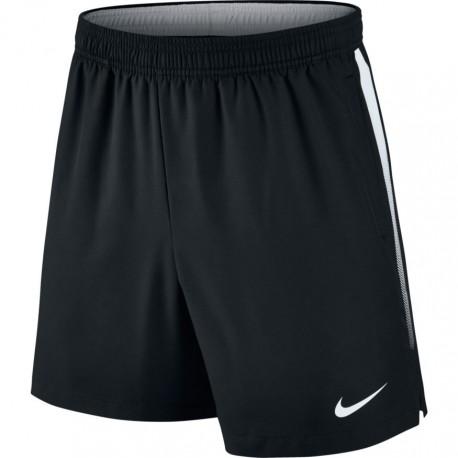Pánské tenisové šortky Nike Court Dry 7´ BLACK WHITE - Tenissport Březno 5c7e3c4b15