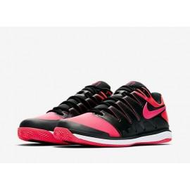 Pánská tenisová obuv Nike Air Zoom Vapor X Clay BLACK/SOLAR RED