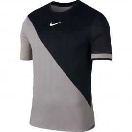 Pánské tenisové tričko Nike Zonal Cooling ATM GREY/BLACK