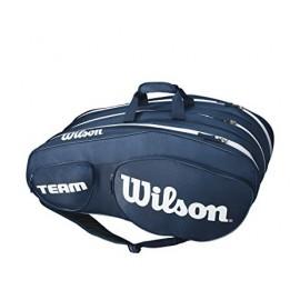 Tenisová taška Wilson Team III 12 Pack Blue