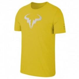 Chlapecké tenisové tričko Nike Rafa Legend BRIGHT CITRON