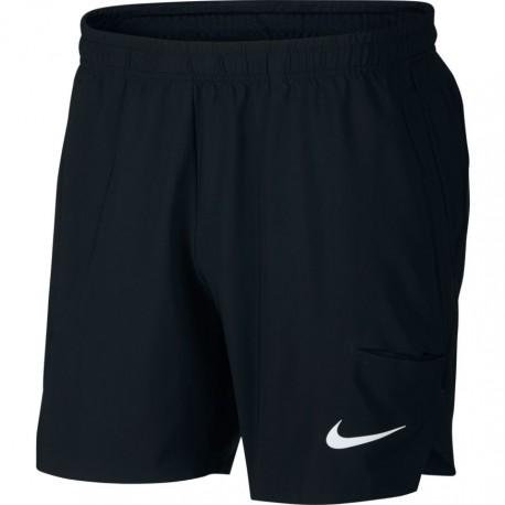 Pánské tenisové šortky Nike Flex Ace ATMOSPHERE GREY/BLACK