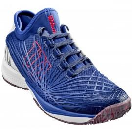 Pánská tenisová obuv Wilson Kaos 2.0 SFT Clay  Maz Blue/Wh/NEON