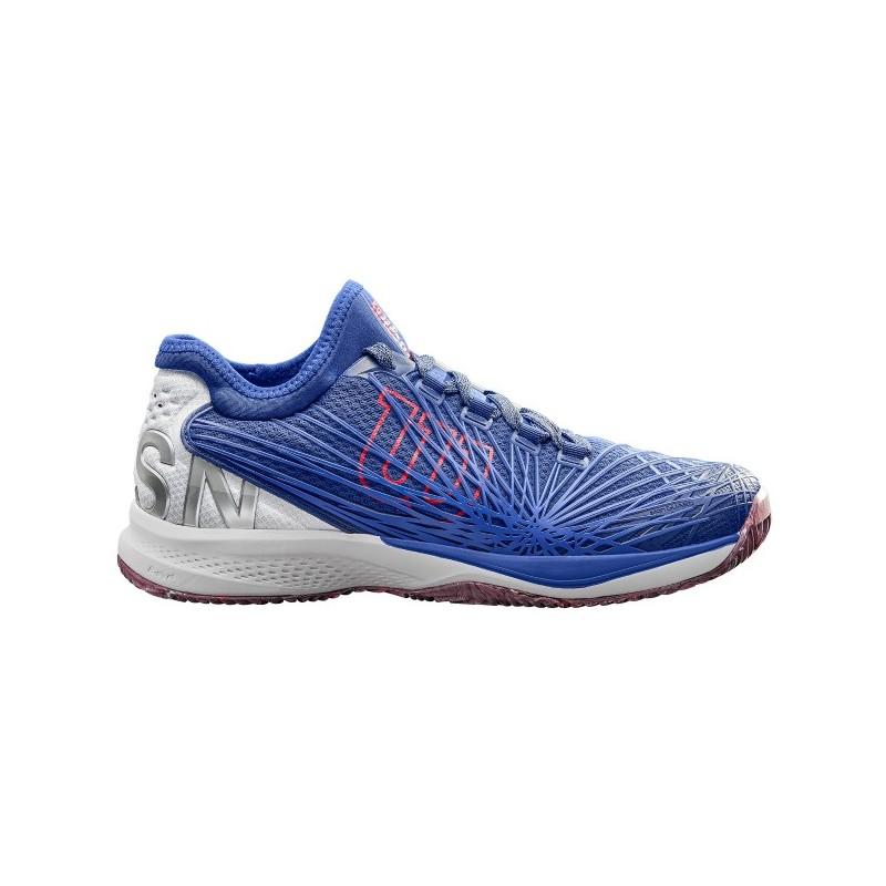 Pánská tenisová obuv Wilson Kaos 2.0 SFT Clay Maz Blue Wh NEON ... 6fbe981589d