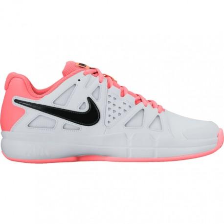 Dámská tenisová obuv Nike Air Vapor Advantage Clay WHITE/LAVA GLOW