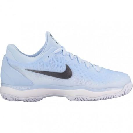 Dámská tenisová obuv Nike Air Zoom Cage 3 HC HYDROGEN BLUE