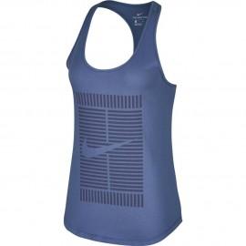 Dámské tenisové tílko Nike Court Tomboy BLUE RECALL
