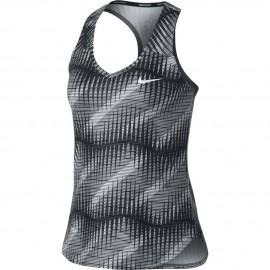 Dámské tenisové tílko Nike Pure Tank BLACK/WHITE