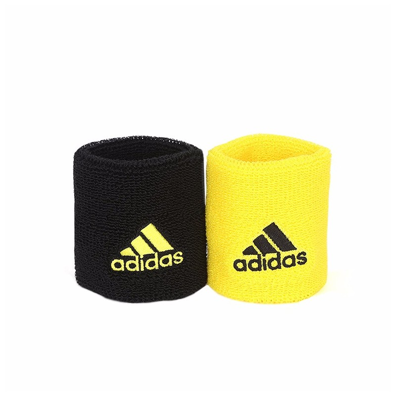 409e4b2b6db Potítka adidas WB S black yellow - Tenissport Březno