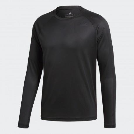41b17160663b Pánské tričko adidas D2M Longsleeve black - Tenissport Březno