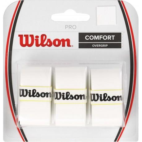 Omotávka Wilson Pro Overgrip white / 3 ks