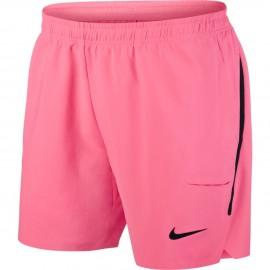 Pánské tenisové šortky Nike Flex Ace SUNSET PULSE/BLACK