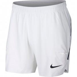 Pánské tenisové šortky Nike Flex Ace 7 white