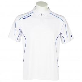 Pánské tenisové tričko Babolat Polo Match Core white