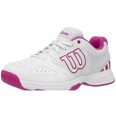 Dětská tenisová obuv Wilson Stroke jr White