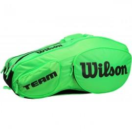 Tenisová taška Wilson Team III 12 Pk Green