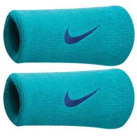 Potítka Nike swoosh doublewite liht blue  X2