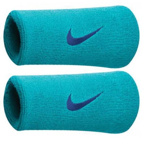 Potítka Nike swoosh doublewide light blue