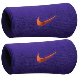 Potítka Nike swoosh doublewite Purple  X2