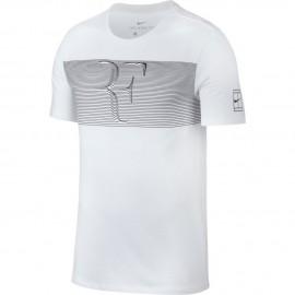 Pánské tenisové tričko Nike RF Court WHITE/BLACK