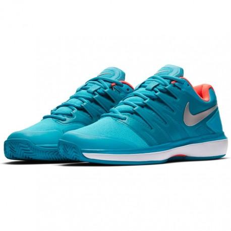 Dámská tenisová obuv Nike Air Zoom Prestige Clay LT BLUE FURY