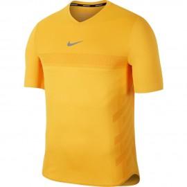 Pánské tenisové tričko Nike Aero React Rafa LASER ORANGE