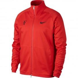 Pánská tenisová bunda Nike RF HABANERO RED
