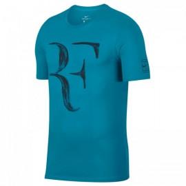 Dětské tenisové tričko Nike Legend RF NEO TURQ