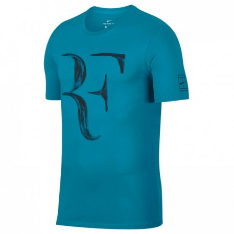 Chlapecké tenisové tričko Nike Legend RF NEO TURQ