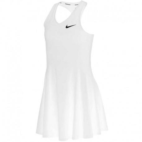 Dětské tenisové šaty Nike Pure white