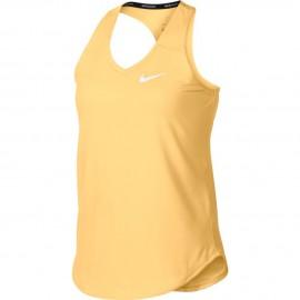 Dívčí tenisové tílko Nike Pure TANGERINE TINT
