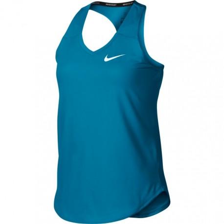 Dívčí tenisové tílko Nike Pure NEO TURQ