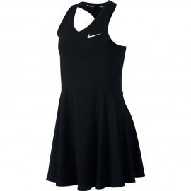 Dětské tenisové šaty Nike Pure black